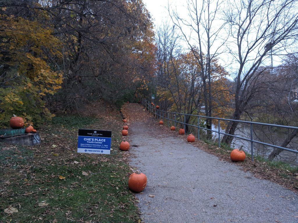 Youth Activists Inc Pumpkin Walk